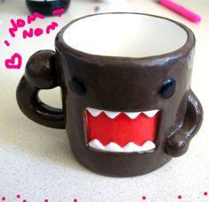 Domo-kun Mug.  Available at the NHK headquarters in Tokyo.