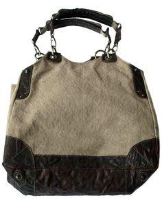 Frontrow Living XL Bag Canvas Greyish Khaki