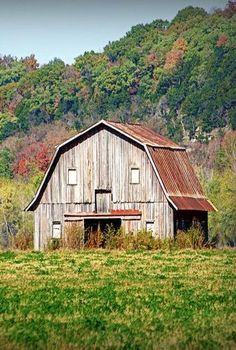 Barn In Hartsburg, Missouri