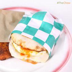 Michael Symon's #EggSandwich! #TheChew #Breakfast #Eggs