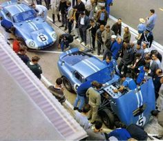 1964 24hr of LeMans. Shelby Cobra Daytona Coupe