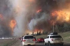 Image result for pictures of the fort mac fire