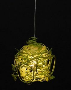 Green Vine Lamp – A Piece Of Nature In Your House | DigsDigs