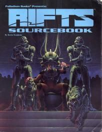 Palladium Books:Rifts Sourcebook