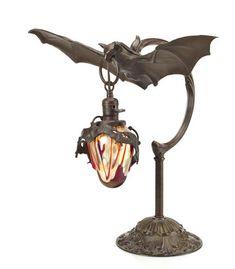 Austrian Bronze Bat Lamp - LOT 415 Estimate: $3500-$5000 | Pendant ...