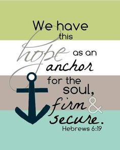 Our hope endures!