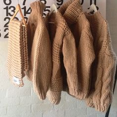Line up  Sand color might be my favorite! #sand #wool #heartworking #knitwear #Australia #ilovemrmittens