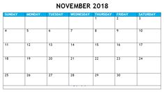 Here you will get November 2018 Calendar Australia, Blank Calendar for your personal & office use at free of cost from our website. 2018 Printable Calendar, Excel Calendar Template, Calendar 2018, November Calendar, Calendar Wallpaper, Printables, Printable Templates, Words