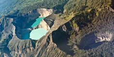 Kelimutu crater lakes in Flores Island, Indonesia | 27 Surreal Places To Visit Before You Die