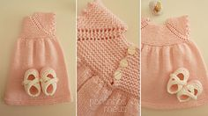 Ravelry: pontinhosmeus' Sweet baby dress (Rolly)