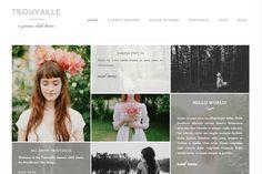 Trouvaille Wordpress Theme by dinosaurstew on @creativemarket