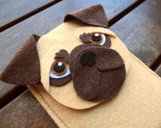 felt pug patterns - Buscar con Google
