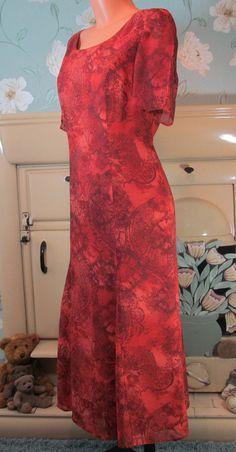 Vintage designer Gina Bacconi dress R10232