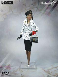 Tenue Outfit Accessoires Pour Fashion Royalty Barbie Silkstone Vintage 1423 | eBay