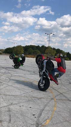 #STUCKINOHIO #wheelie #stuntrider
