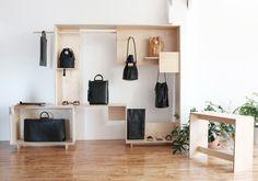 Waka Waka - Positive Negative Shelf for Building Block Bag Display, Display Design, Store Design, Building Block Bag, Vitrine Design, Store Fixtures, Retail Design, Showroom, Decoration