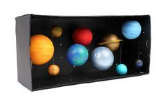 How to Make a Model Solar System #Science #SchoolProjects #SolarSystem