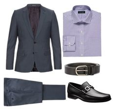 Business Suit Men 2 by luciana-coconut on Polyvore featuring Lauren Ralph Lauren, Paul Smith, Dsquared2, men's fashion and menswear