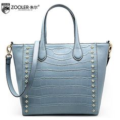 81.80$  Buy now - http://aliq79.worldwells.pw/go.php?t=32726998968 - ZOOLER2016 new high-quality fashion luxury brand handbags leather bag counter genuine, well-known brands of women