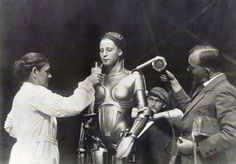 Brigitte Helm - Behind the Scenes of 'Metropolis.'