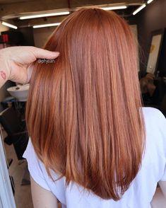 22 New Gorgeous Hair Color Trends For 2019 - Copper Hair Gorgeous Hair Color, Red Hair Color, Brown Hair Colors, Hair Color Auburn, Lace Hair, Gold Hair, Red Hair Long Bob, Medium Auburn Hair, Cabelo Rose Gold
