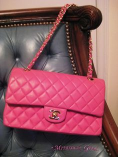 I love diamond-quilted Chanel purses!