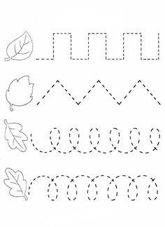 Preschool Workbooks, Fall Preschool Activities, Preschool Writing, Numbers Preschool, Homeschool Kindergarten, Preschool Learning Activities, Kindergarten Worksheets, Preschool Crafts, Kids Learning