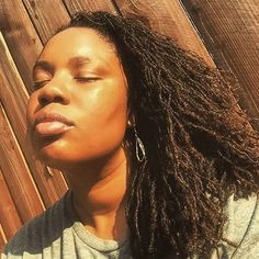 Sun kissed w/ @villagehairdontcare #locs #sisterlocks #naturalhair #dreads