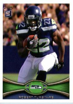 e2cc268d4 2012 Topps Football Card # 6 Robert Turbin RC - Seattle Seahawks (RC -  Rookie