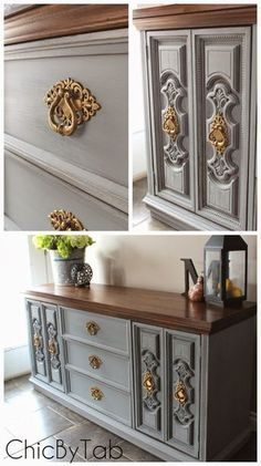 New bedroom furniture makeover diy link ideas Decor, Redo Furniture, Refurbished Furniture, Painted Furniture, Bedroom Furniture Makeover, Furniture Rehab, Furniture Inspiration, Furniture Makeover, Vintage Furniture