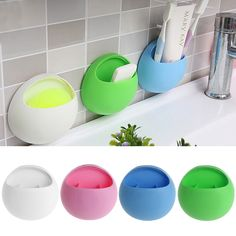 >> Click to Buy << New Cute Eggs Design Home Bathroom Toothbrush Sucker Holder Suction Hooks Cup Organizer Toothbrush Rack Kitchen Storage Set #Affiliate