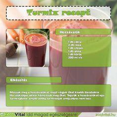 Egy finom és gyorsan elkészíthető céklás sárgarépa turmix receptje #turmix #recept