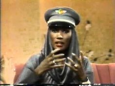 Grace Jones - The Joan Rivers Show