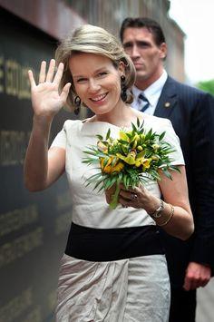 Princess Mathilde of Belgium May 11, 2012