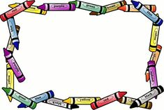Border Design Paper Crayon Free Page Borders Spyfind Clipart