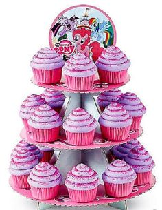 Wilton #Disney My Little Pony Cupcake Treat Stand 3 Tier; Birthday Party Theme! from $6.65