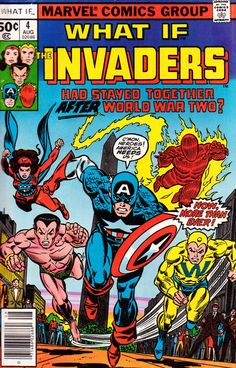 What if? #4 cover by Gil Kane