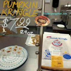 Trader Joe's Pumpkin Caramel Kringle  $7.99 トレーダージョーズ パンプキンキャラメル クリングル #traderjoes #pumpkin #kringle