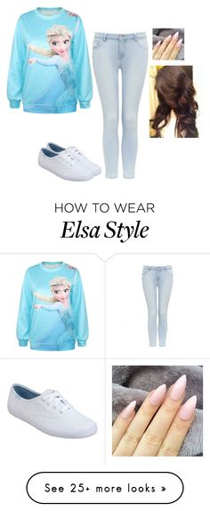 """""""Untitled #411"""" by hannahmcpherson12 on Polyvore featuring Forever New and Keds"""