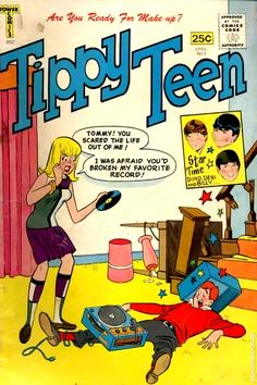 Tippy Teen comic 1965