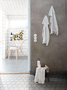 IKEA hack – förvandla kökshanddukar till fina gästhanddukar med spets