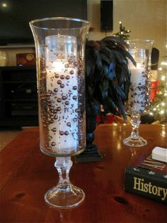 Dollar Store Hurricane Candles :: Hometalk