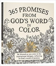 Amazon.com: 365 Promises From God's Word In Color: Scripture and Coloring Pages (9781432115951): Christian Art Publishers (Corporate Author): Books