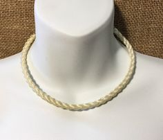 Horsehair Necklace Cowgirl Necklace Equestrian Necklace