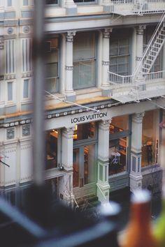 Louis Vuitton - Greene St at Prince St / Soho, New York City