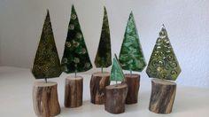 Töpfern, Treibholz, Weihnachten