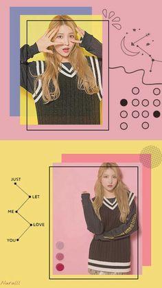 Gfriend Yuju, Gfriend Sowon, Kpop Girl Groups, Kpop Girls, G Friend, Screen Wallpaper, Korea, Album, My Love