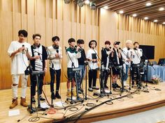 Soon-to-debut group UP10TION perform 'Just Like This' for the 1st time on the 'CulTwo Show' | allkpop