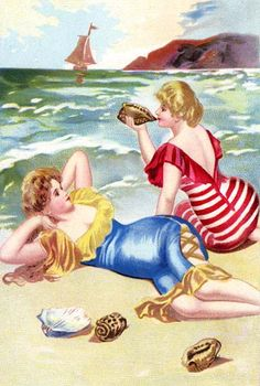 Beauties on the Sea Shore