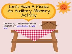 Auditory game with cute visuals (similar to Grandmother Went to Market)